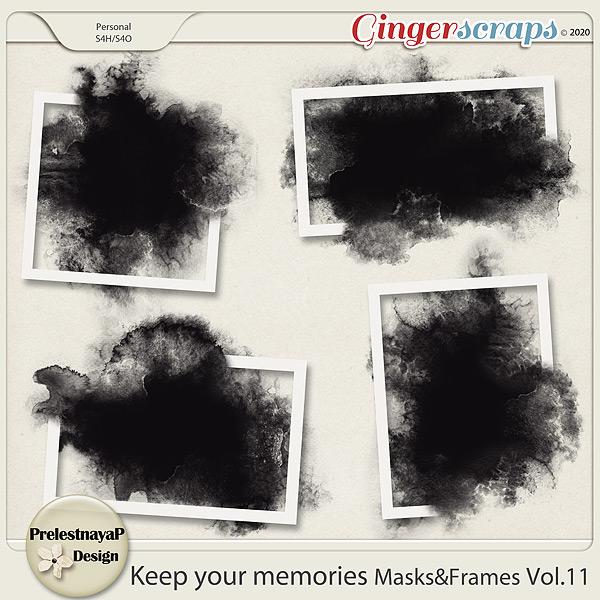 Keep your memories Masks&Frames Vol.11