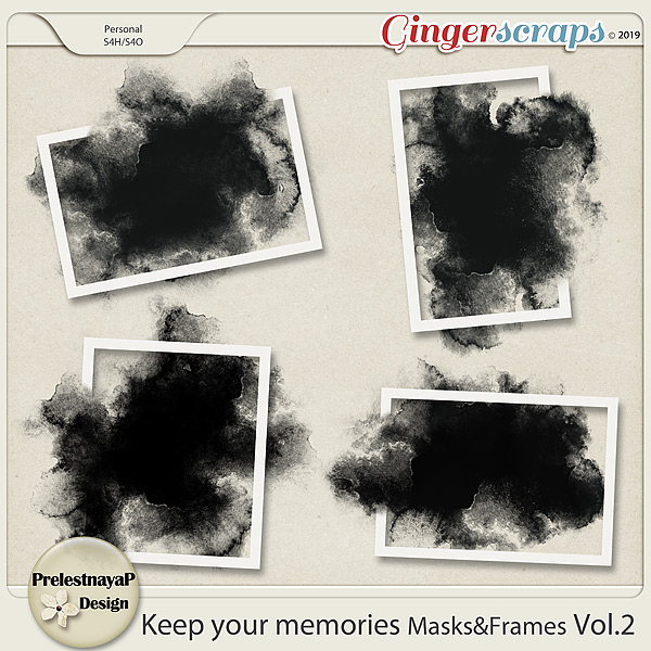 Keep your memories Masks&Frames Vol.2