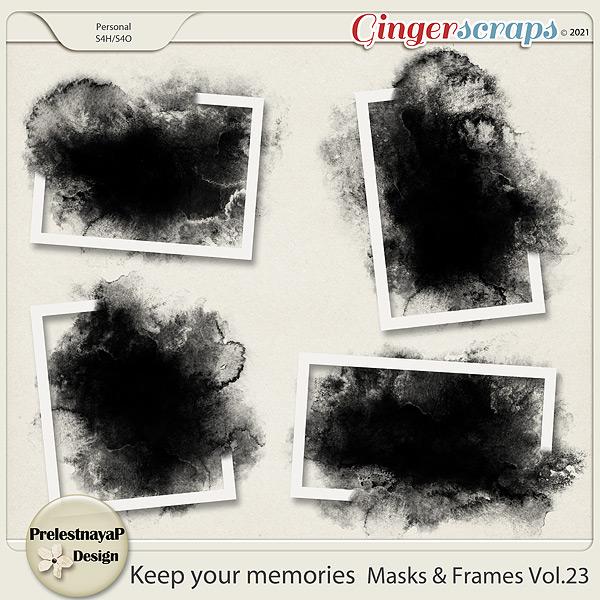 Keep your memories Masks&Frames Vol.24
