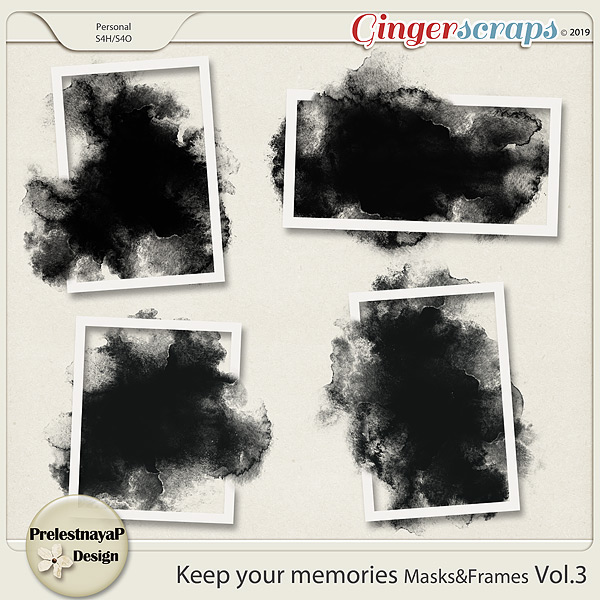 Keep your memories Masks&Frames Vol.3