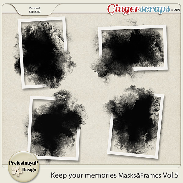 Keep your memories Masks&Frames Vol.5