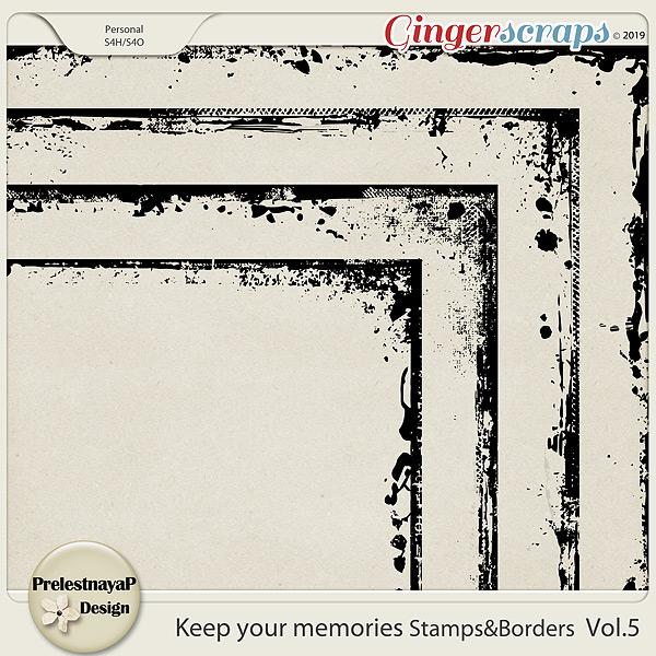 Keep your memories Stamps&Borders Vol.5