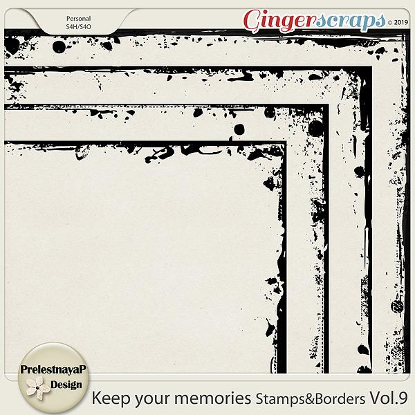Keep your memories Stamps&Borders Vol.9