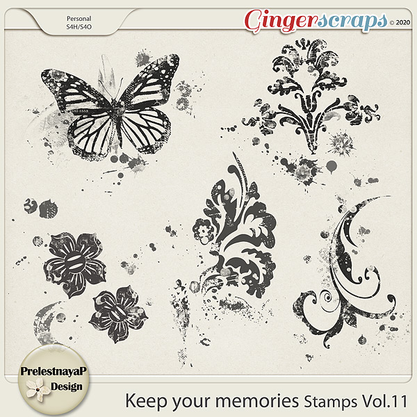 Keep your memories Stamps Vol.11