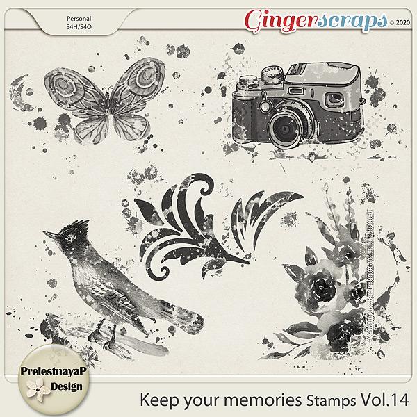 Keep your memories Stamps Vol.14