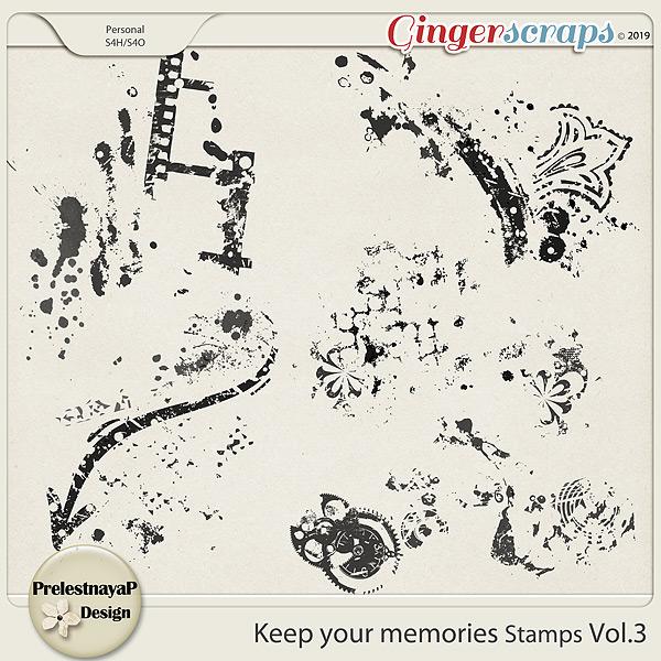 Keep your memories Stamps Vol.3