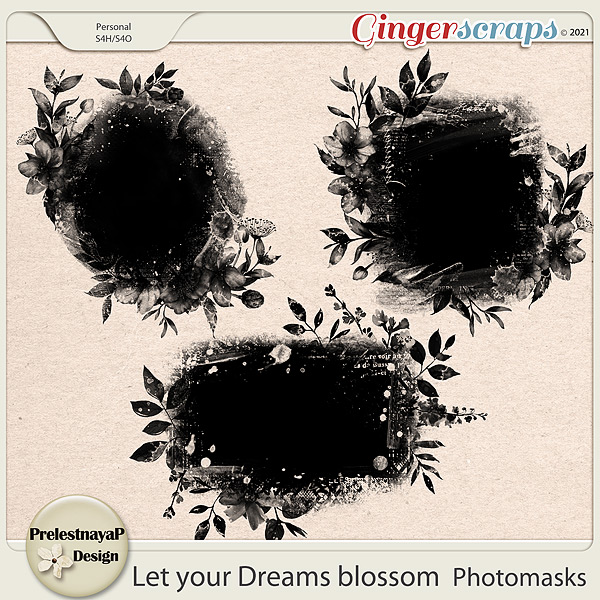 Let your Dreams blossom Photomasks