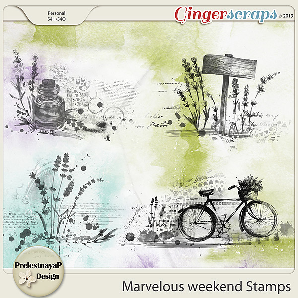 Marvelous weekend Stamps