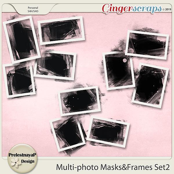 Multi-photo Masks&Frames Set2