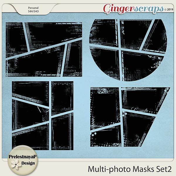 Multi-photo Masks Set2