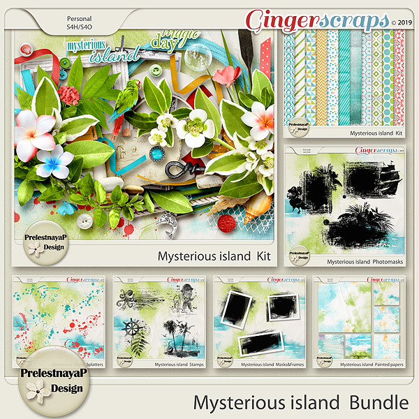 Mysterious island Bundle