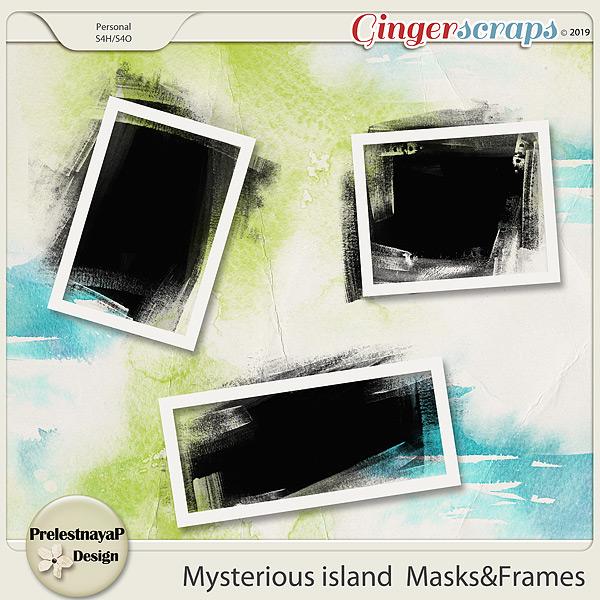 Mysterious island Masks&Frames