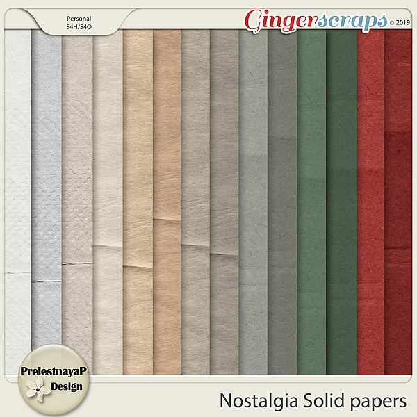 Nostalgia Solid papers