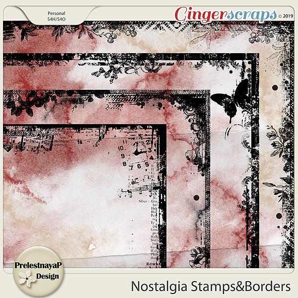 Nostalgia Stamps&Borders