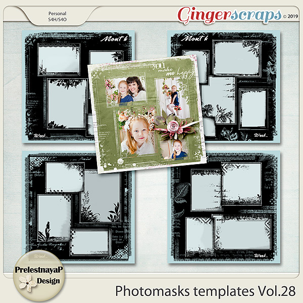Photomasks templates Vol.28