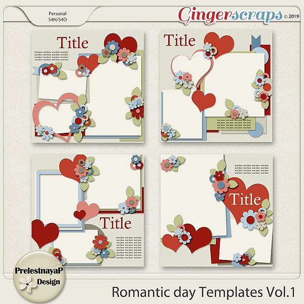Romantic day Templates Vol.1