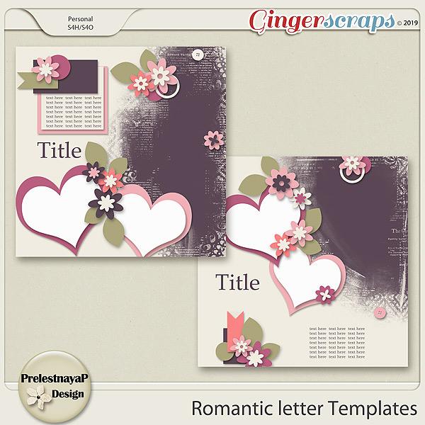 Romantic letter Templates