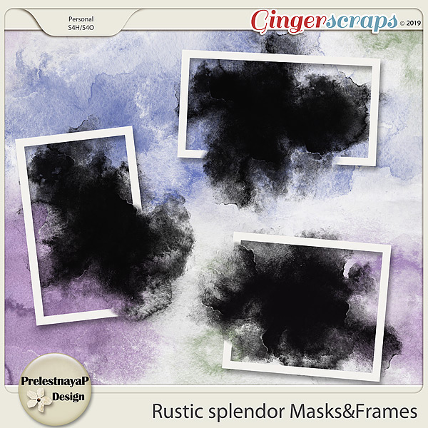 Rustic splendor Masks&Frames