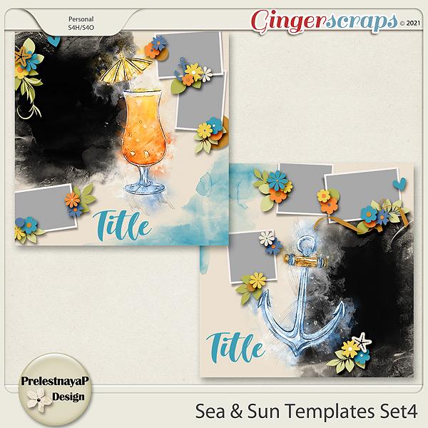 Sea & Sun Templates Set4