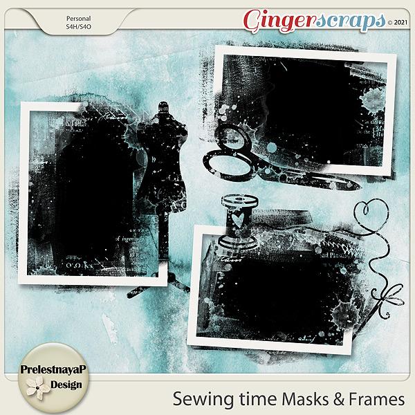 Sewing time Masks & Frames