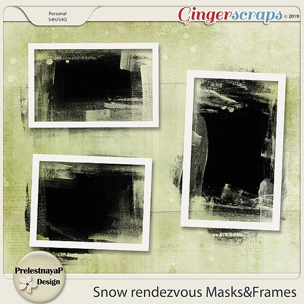 Snow rendezvous Masks&Frames