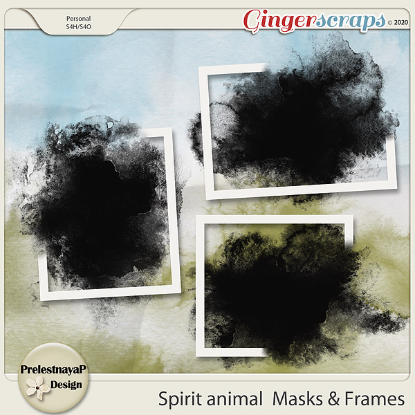 Spirit animal Masks & Frames