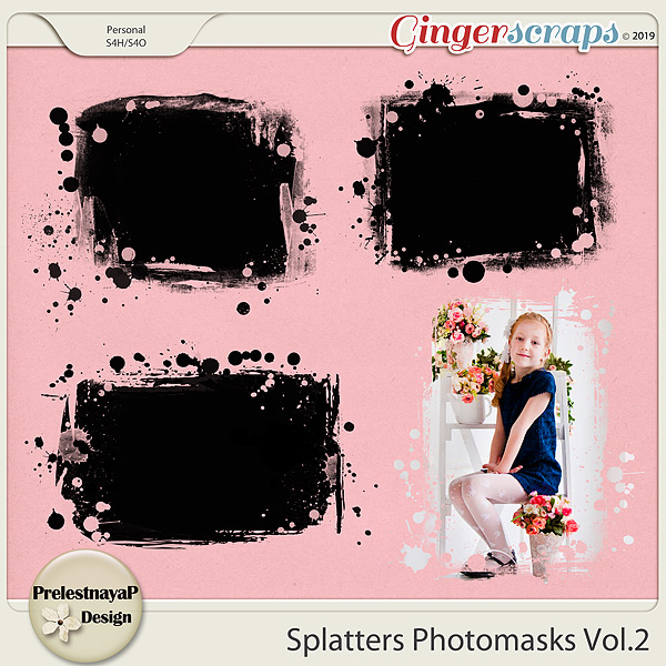 Splatters Photomasks Vol.2