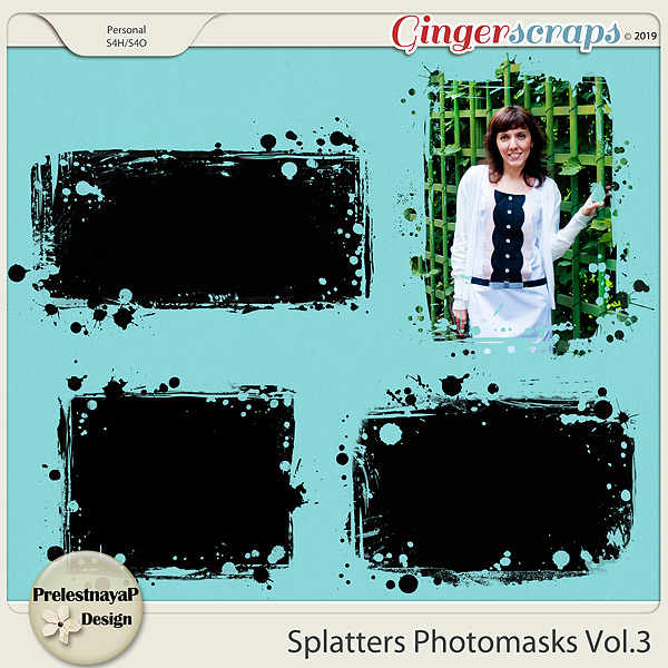 Splatters Photomasks Vol.3