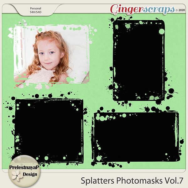 Splatters Photomasks Vol.7