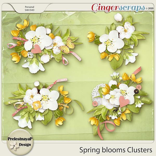 Spring blooms Clusters