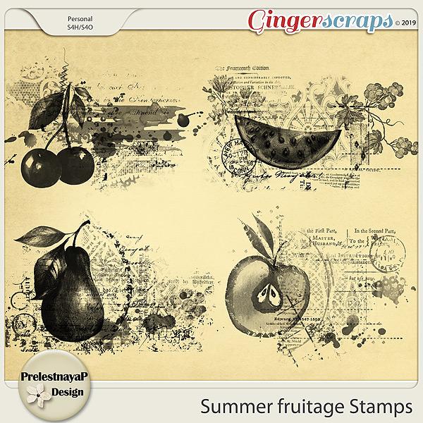 Summer fruitage Stamps