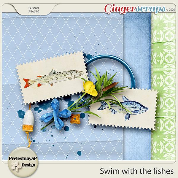 Swim with the fishes Mini Kit