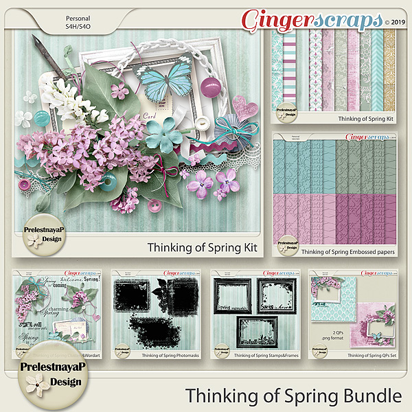Thinking of Spring Bundle