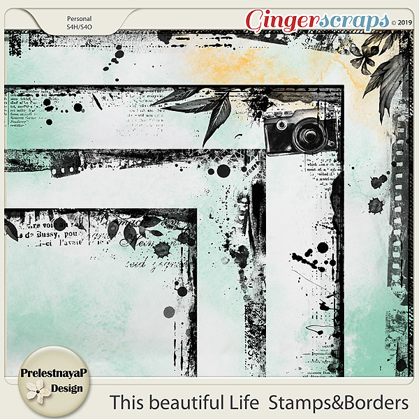 This beautiful Life Stamps&Borders