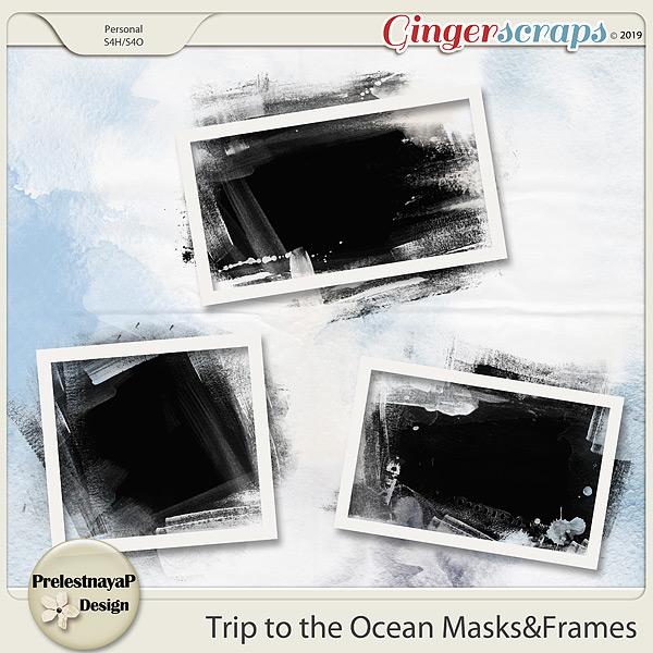 Trip to the Ocean Masks&Frames