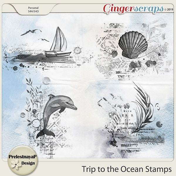 Trip to the Ocean Stamps