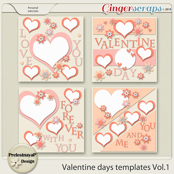 Valentine Day Templates Vol.1