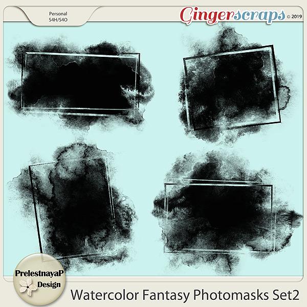 Watercolor fantasy Photomasks Set2