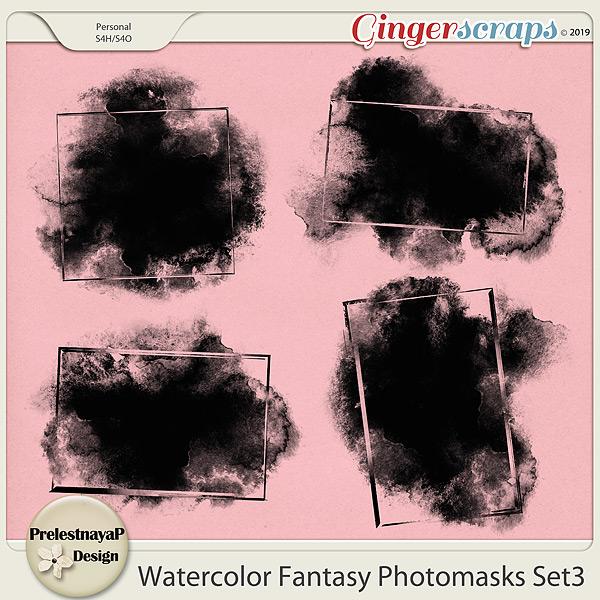 Watercolor fantasy Photomasks Set3