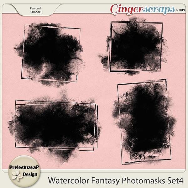 Watercolor fantasy Photomasks Set4