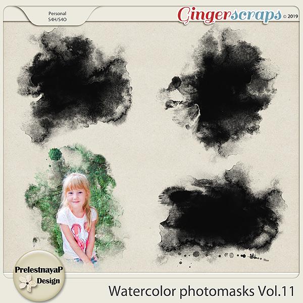 Watercolor photomasks Vol.11
