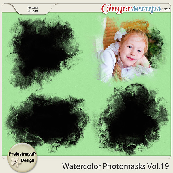 Watercolor photomasks Vol.19