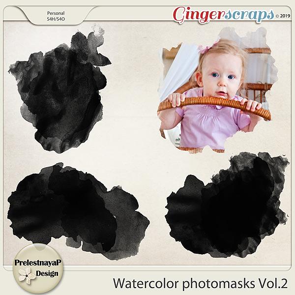 Watercolor photomasks Vol.2