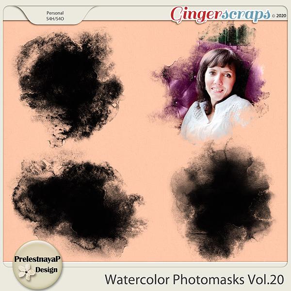 Watercolor photomasks Vol.20