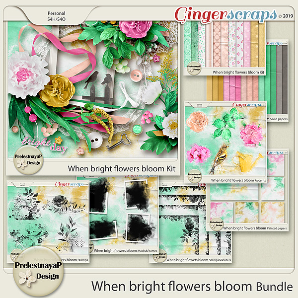 When bright flowers bloom Bundle