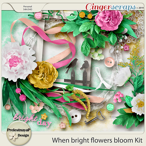 When bright flowers bloom Kit