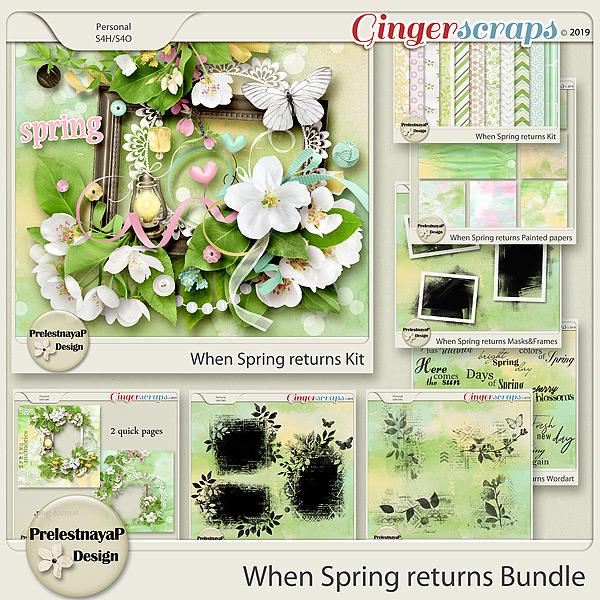 When Spring returns Bundle