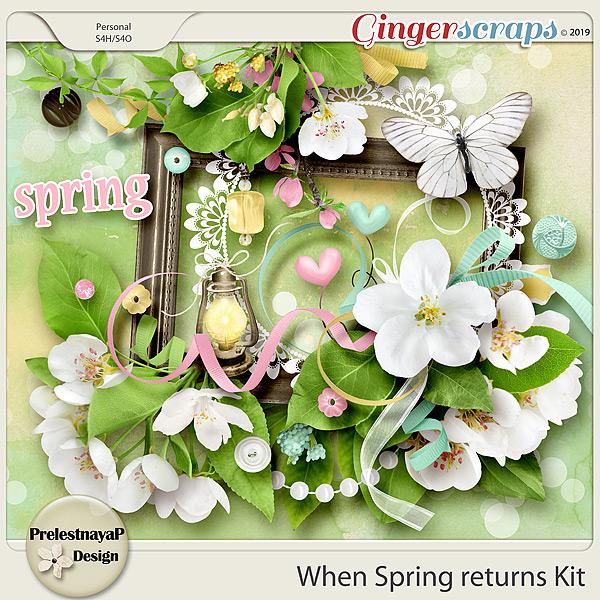 When Spring returns Kit