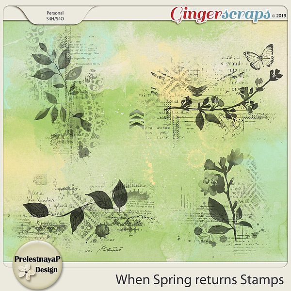 When Spring returns Stamps