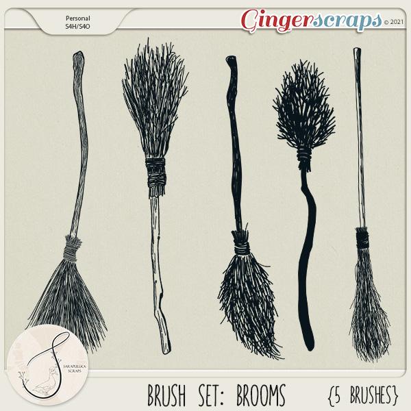 Brush set: Brooms